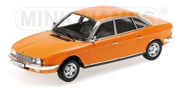 1 18 Minichamps NSU Ro80 1972 Arancione Edizione Limitata 1von 750