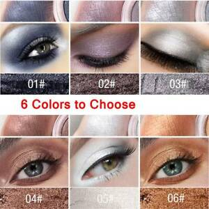 6-Colors-Single-Metallic-Pearl-Light-Matte-Eyeshadow-Cosmetic-Makeup