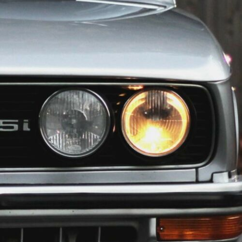 RETROFIT SET 4X EU HEADLIGHTS BMW E21 E30 E24 E12 E28 E23 US Models