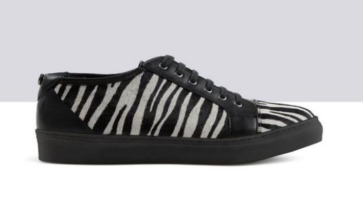 TED & EU MUFFY Nimbus Zebra Print Pelo Lacci Tg EU & 40 LG07 33 1c56a9