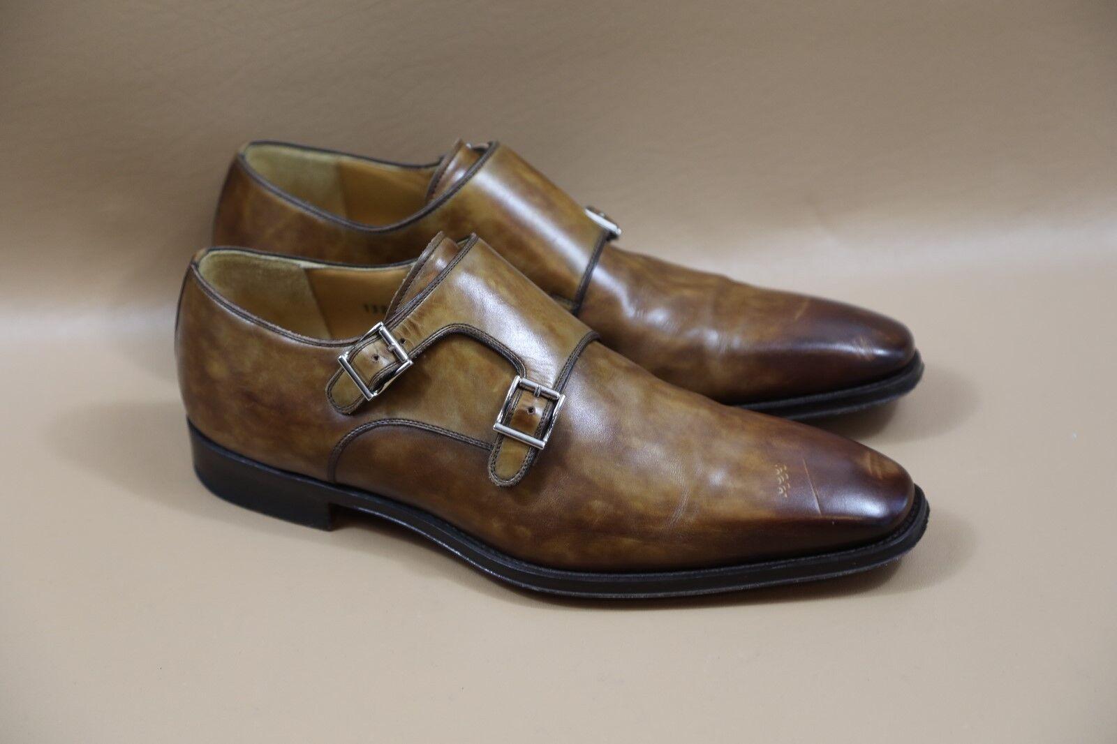 Magnanni 'Miro' Double Monk Strap shoes Size 8.5