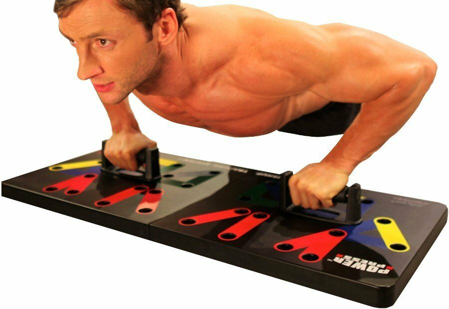 NEW Maximum Fitness Gear Power Press  Push Up -Complete Training System Workout  reasonable price