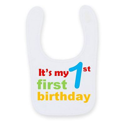 Its My 1st Birthday Baby Bib Cute Funny Cute 1st Birthday Baby Bib B022 Met De Beste Service
