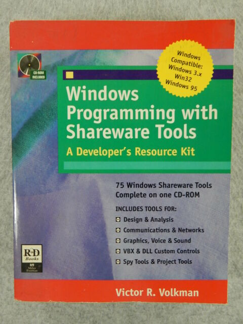 Windows Programming with Shareware Tools (no CD-ROM) by Volkman