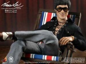 fb6596e652e Hot Toys 1 6 MIS12 Casual Wear Bruce Lee Box Set Figure Model ...