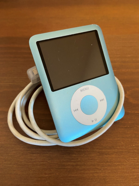 iPod, Nano 3 Gen., 4 GB, God,   iPod Nano 3 Gen. fra…