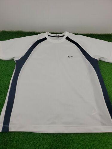 VTG Nike Mesh Swoosh Short Sleeve Crew Neck Tee Sz