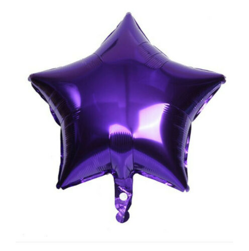 Ballons Étoile Cœur Rond Feuille Fête D/'Anniversaire Hélium//Air School environ 45.72 cm 3x 18 in