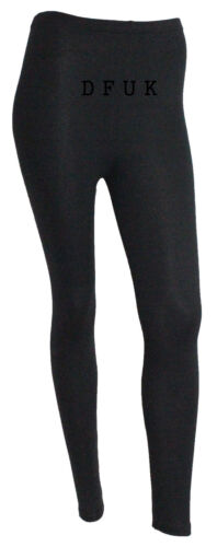 LADIES WOMEN/'S FULL LENGTH MULTI PRINT LEGGINGS CASUAL JEGGINS  PANTS SIZE 8-22
