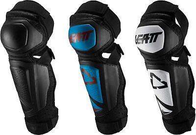 Black//One Size Leatt EXT Youth Knee and Shin Guard Dirt Bike Motorcycle Body Armor