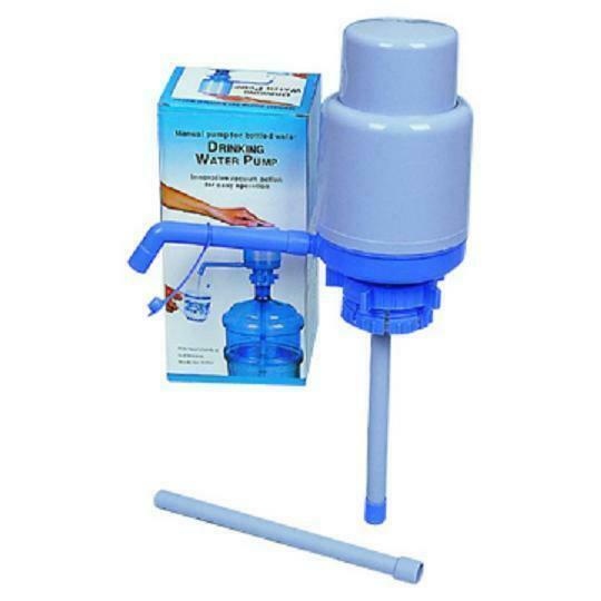 5 Gallon Manual Pump for Bottle Water Heavy Duty Drinking Water ...