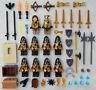 10 NEW LEGO CASTLE KNIGHT MINIFIG LOT Kingdoms hawk figures minifigures people