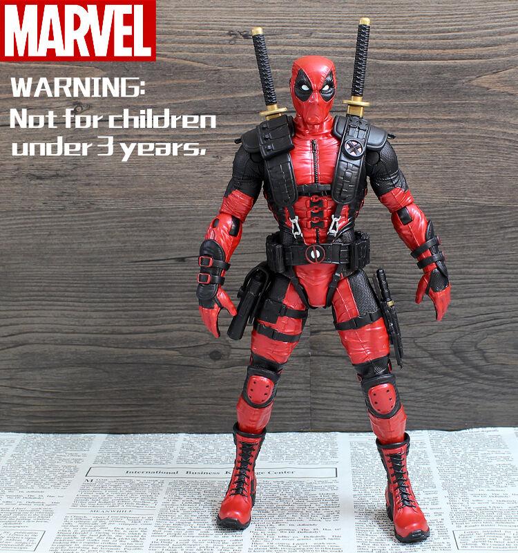 CRAZY TOYS x-men Deadpool Wade Wilson 10  Statue Action Figure Movable Joints