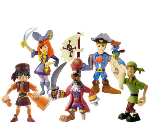 Scooby Doo Pirates Action Figures Shaggy Velma  Daphne Frot Official