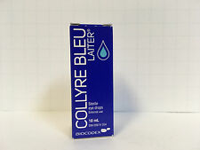 ORIGINAL Collyre Bleu Blue Laiter Eye Drop - 10ml - New Packaging, Same Formula!