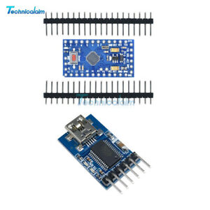 Atmega328-Pro-Mini-FIDI-FT232RL-USB-To-Serial-5V-16M-Adapter-For-Arduino