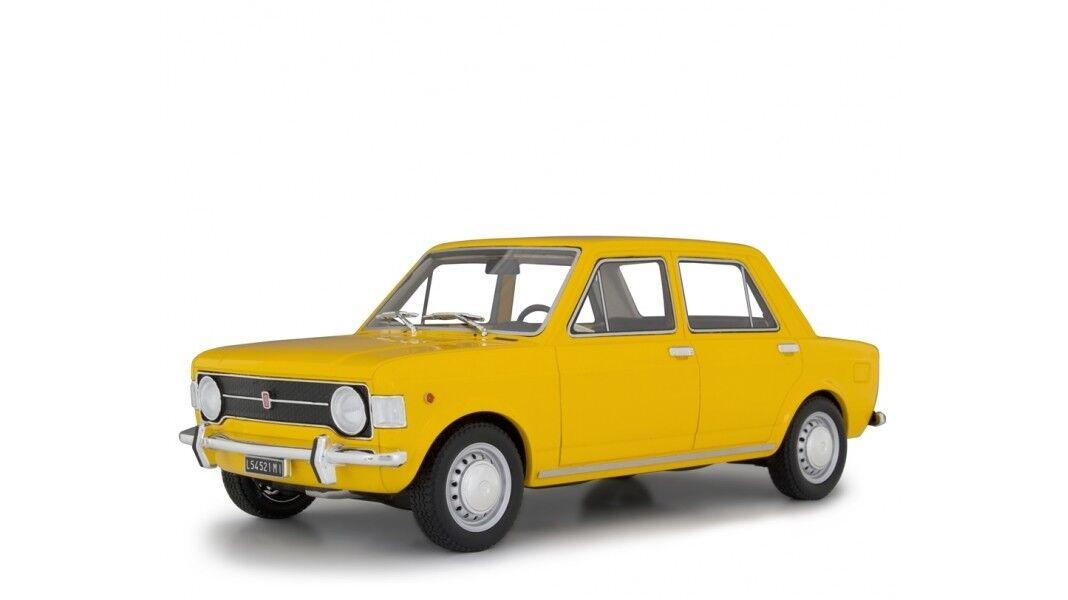Fiat 128 SERIE  1 1969 jaune 1 18 resin Laudoracing lm112b NOUVEAU & NEUF dans sa boîte  prix plancher