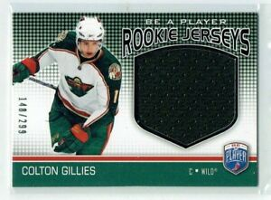 08-09-BAP-Be-A-Player-Colton-Gillies-299-Jersey-Rookie