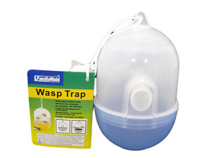 Hanging Wasp Yellowjacket Trap No Poison Chemicals Free