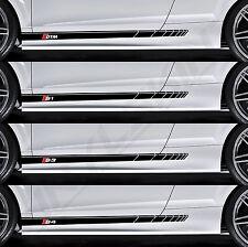 AUDI DTM S1 S3 S4 Superior Cast Side Stripes Decals Stickers S-line A4 Quattro