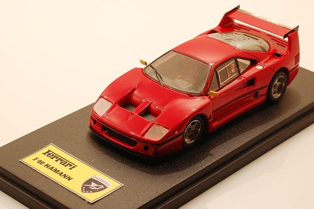1/43 scale customized Ferrari F40 Hamann, BBR kit