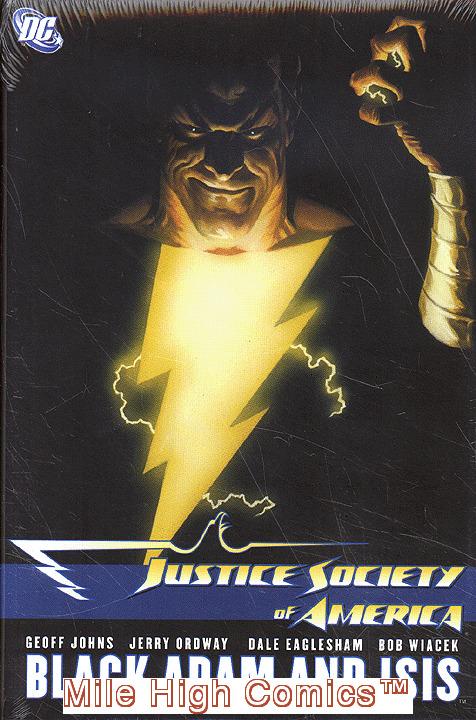 JSA VOL. 5: BLACK ADAM AND ISIS HC (2009 Series) #1 Near Mint
