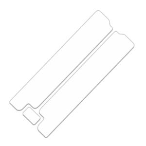 29er Fork Skin Protection SetClear Vinyl Shield29 inch