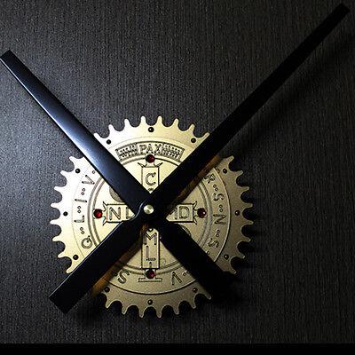 """Wall Clock Modern Art Watch Metallic Constantine Exorcism Cross 16"""""""