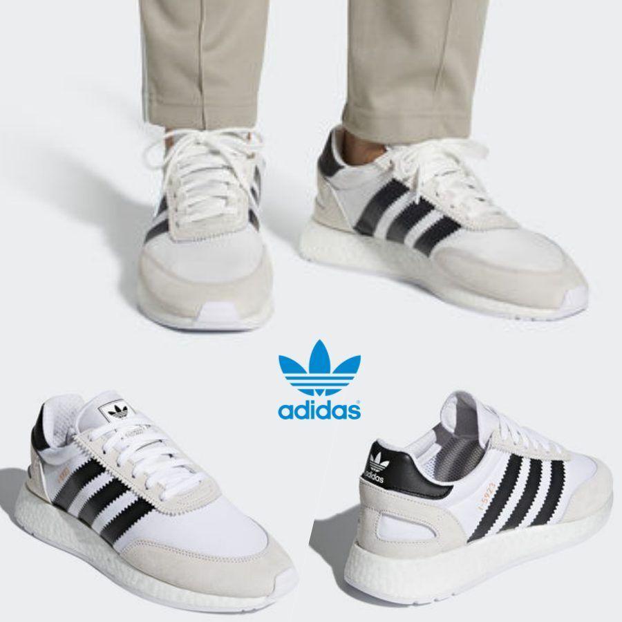 Adidas Original INIKI I-5923 Runner Shoes Running White Black CQ2489 SZ 4-13