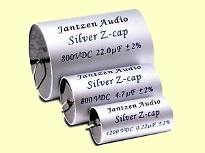 1-pc-Jantzen-Audio-HighEnd-MKP-Silver-Z-Cap-10uF-10-00uF-800VDC-46x70mm