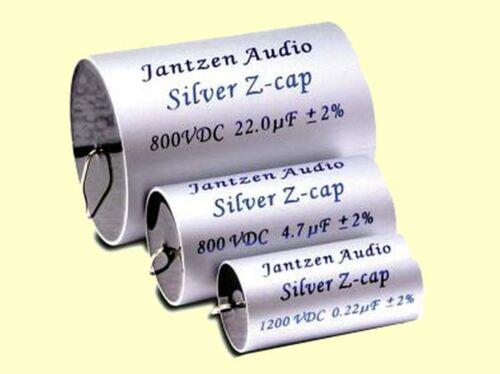 Jantzen audio gama alta mkp Silver Z-cap 8,2uf 8,20uf 800vdc 36x70mm 1 PC