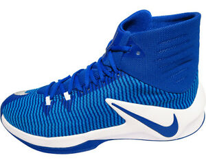 Nike Mens Zoom Clear Out TB Basketball Shoes Royal Blue 844372 444 Size 12  NFJOQ8T10