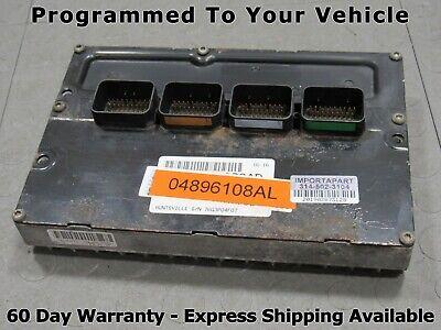 2004 Dodge Stratus 2.7L PCM ECU ECM Part# 4896108 REMAN Engine Computer