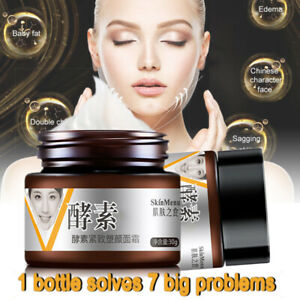 V-Shape-Face-Line-Lift-Firming-Collagen-Cream-Double-Chin-Cheek-Slimming-30g