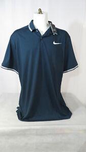 New-Nike-Golf-Men-039-s-Dri-Fit-Polo-Modern-Fit-833075-454-Blue-White-Many-Sizes