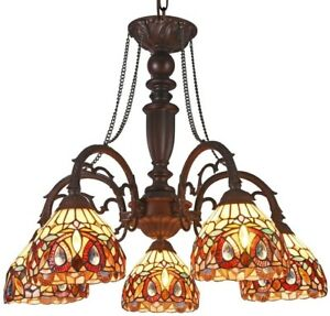 Tiffany Style Chandelier Ceiling Light