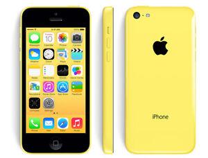 Geniune-Apple-iPhone-5C-Unlocked-32GB-YELLOW-BRAND-NEW-Warranty