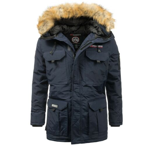 Geographical Esterna Caldi Invernale Uomo Giacca Molto Parka Norway n1PPqw8R