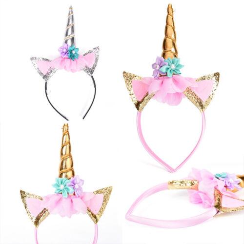 Magische einhorn horn kopf party haar stirnband kostüm cosplay dekorativ CBL