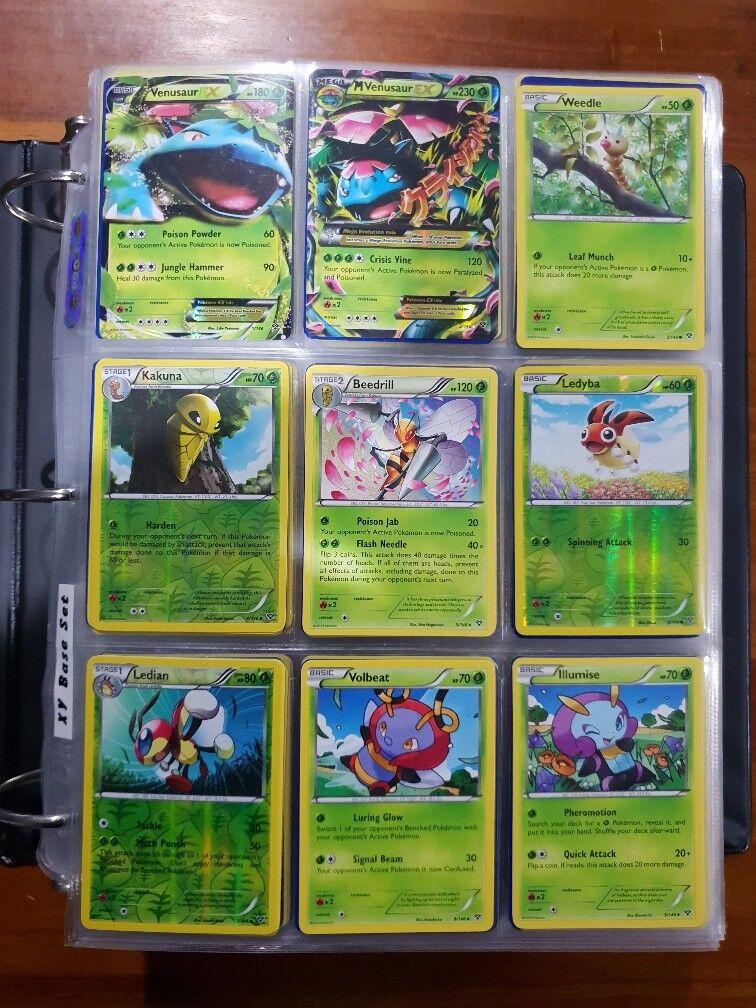 Pokemon TCG CCG XY Base Near Complete Master Set Set Set 00379d