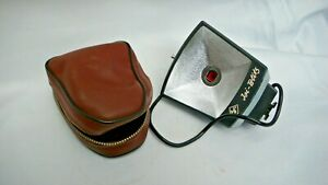 Vintage-AGFA-ISI-BLITZ-COMPACT-FLASH-with-Original-Case