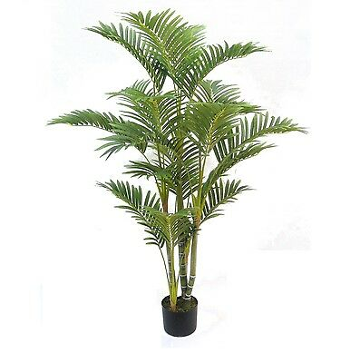 Artificial Deluxe 4ft Kentia Palm Tree ~ Indoor Tree ~ Premium Quality