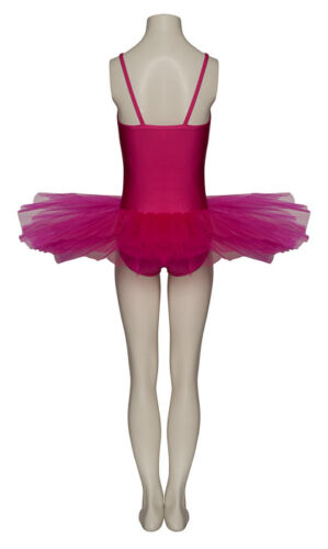 Ladies Girls Peony Fuchsia Ballet Dance Costume Tutu Outfit All Sizes By Katz