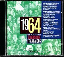 LES PLUS BELLES CHANSONS FRANCAISES - 1964 - CD COMPILATION ATLAS