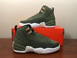 bc0a92cd7b79 Nike Air Jordan 12 Retro Chris Paul Class Of 2003 Olive Green Size ...
