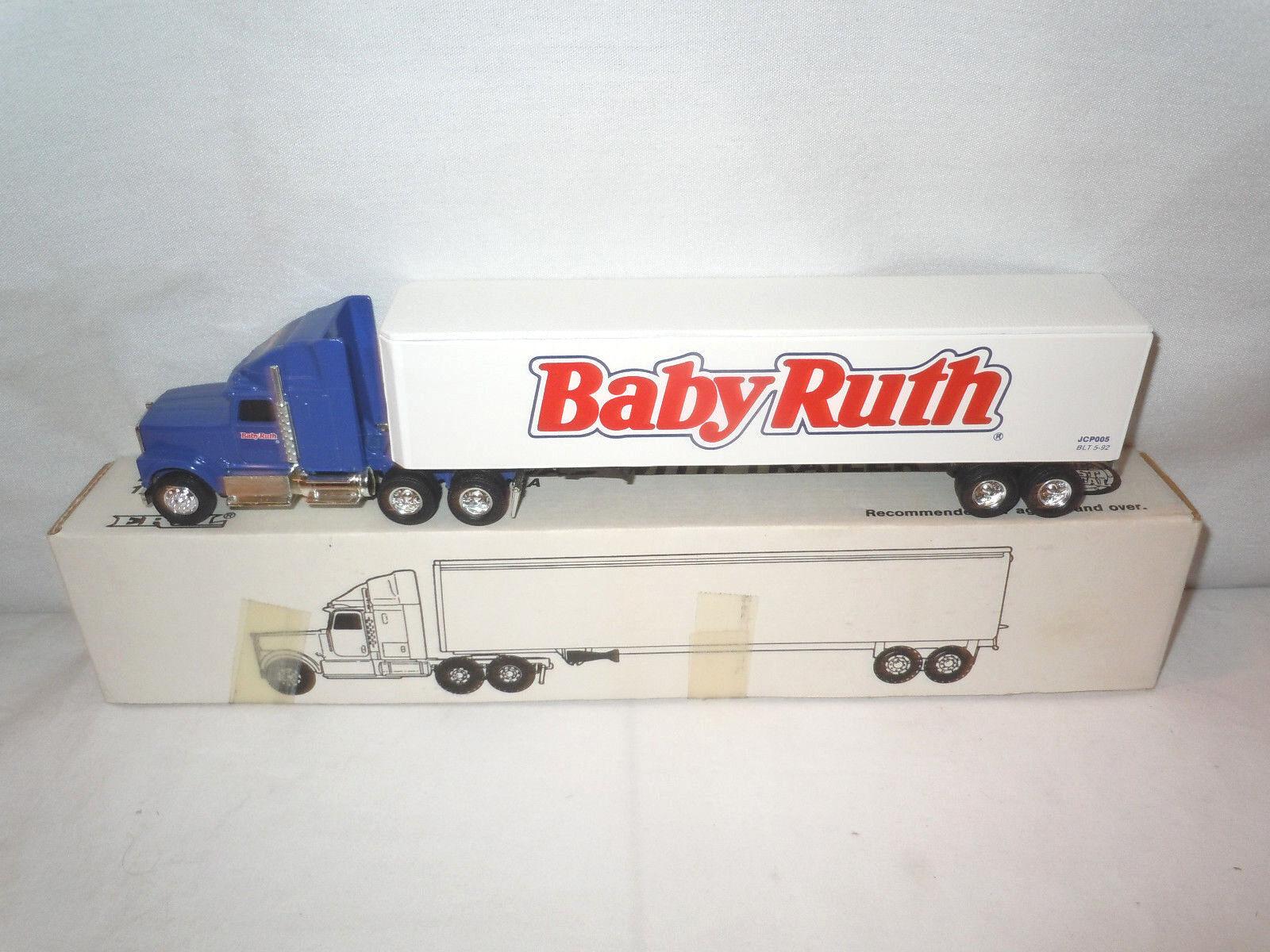 bebis Ruth Candy Bar International Semi med Van Tjärnväger av Ertl 1  64th skala
