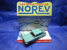 DV6261 NOREV RENAULT 16 R16  BERLINE PLASTIQUE VERTE Ref 3 1/43 TBE