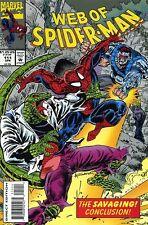 WEB OF SPIDERMAN 111 NM 1985 SERIES RARE KEY LIZARD VOL 1 V1 VOLUME 1st AMAZING