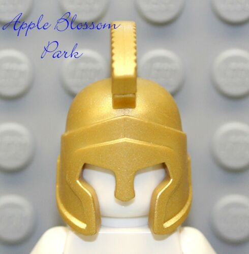 Minifig King Head Crown 7985 NEW Lego Atlantis GOLD HELMET Roman Soldier Hat