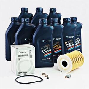 Original BMW Oil Filter + Screw 9L 10W60 3er E90 E92 E93 M3 S65 11427837997